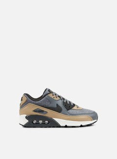 Nike - Air Max 90 Premium, Cool Grey/Deep Pewter/Mushroom