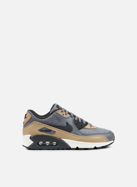 sneakers nike air max 90 premium cool grey deep pewter mushroom