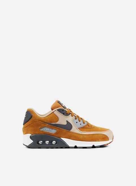 sneakers nike air max 90 premium desert ochre dark grey linen