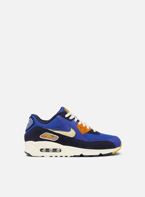sneakers nike air max 90 premium se game royal light cream