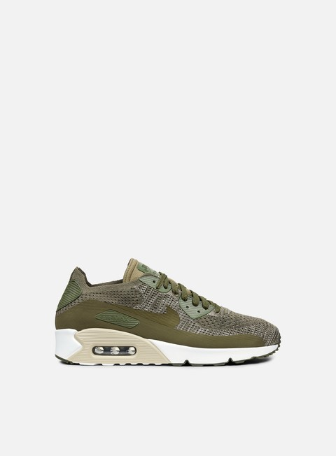 Shop Nike Men's Air Max 90 Ultra 2.0 Flyknit Medium Olive