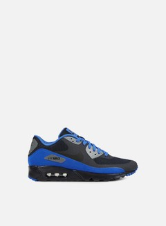 Nike - Air Max 90 Ultra Essential, Dark Obsidian/Black/Hyper Cobalt