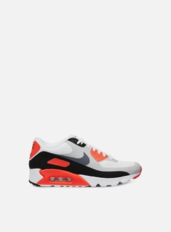 Nike - Air Max 90 Ultra Essential, White/Cool Grey/Infrared 1