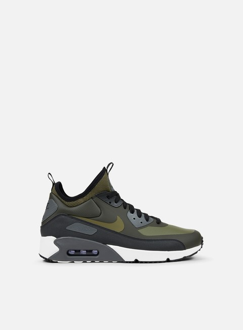 sneakers nike air max 90 ultra mid winter sequoia medium olive black