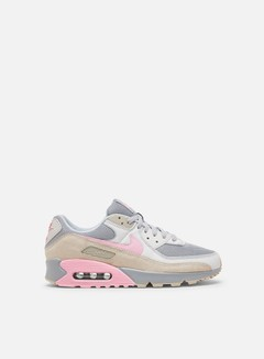 Nike - Air Max 90, Vast Grey/Pink/Wolf Grey/String