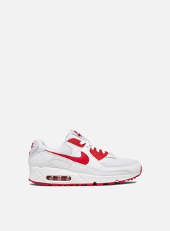 Nike - Air Max 90, White/Hyper Red/Black