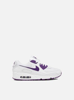 Nike - Air Max 90, White/Voltage Purple/Black