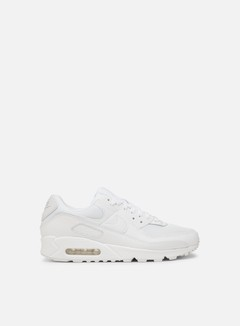 Nike - Air Max 90, White/White/Wolf Grey/White