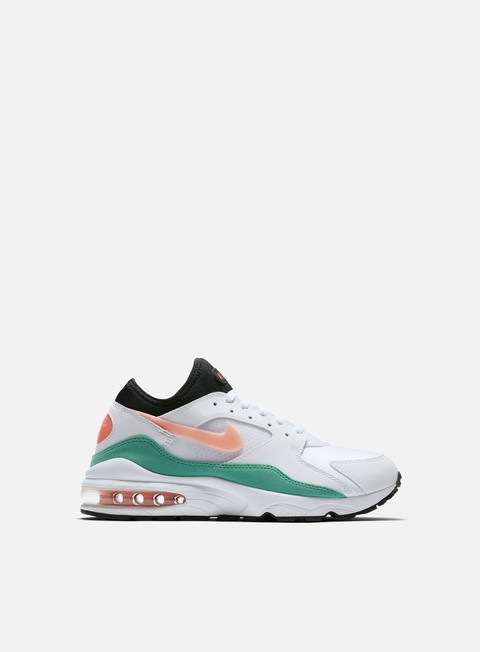 sneakers nike air max 93 white crimson bliss kinetic green