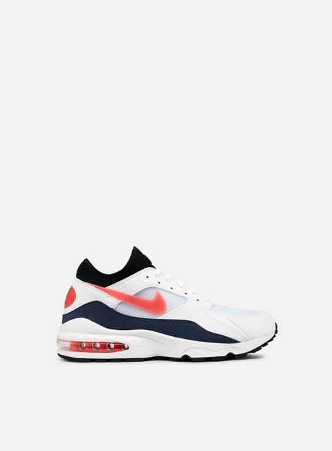 sneakers nike air max 93 white habanero red neutral indigo
