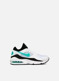 Nike - Air Max 93, White/Sport Turquoise/Black
