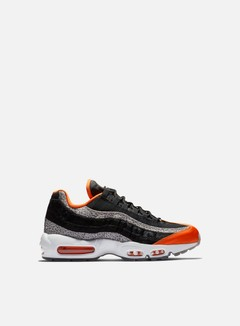 Nike - Air Max 95, Black/Granite/Safety Orange/Black