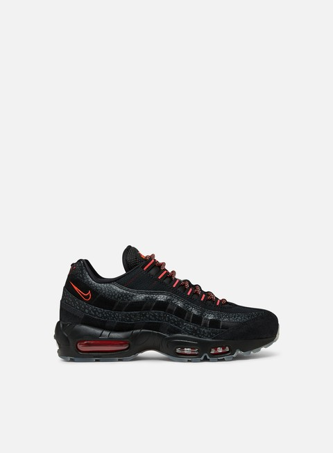 sneakers nike air max 95 black infrared