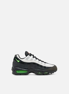 Nike - Air Max 95 Essential, Black/Electric Green/Platinum Tint