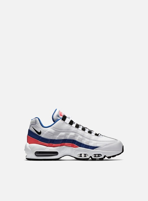sneakers nike air max 95 essential white black solar red