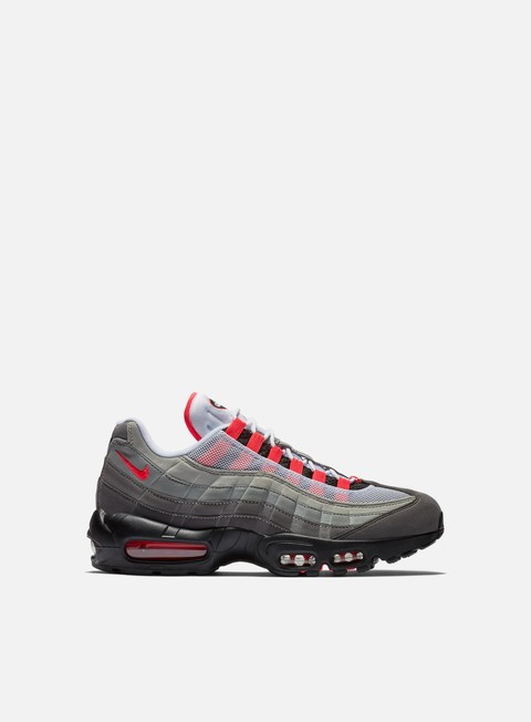 sneakers nike air max 95 og white solar red granite dust