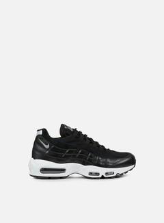 Nike - Air Max 95 Premium, Black/Chrome/Black