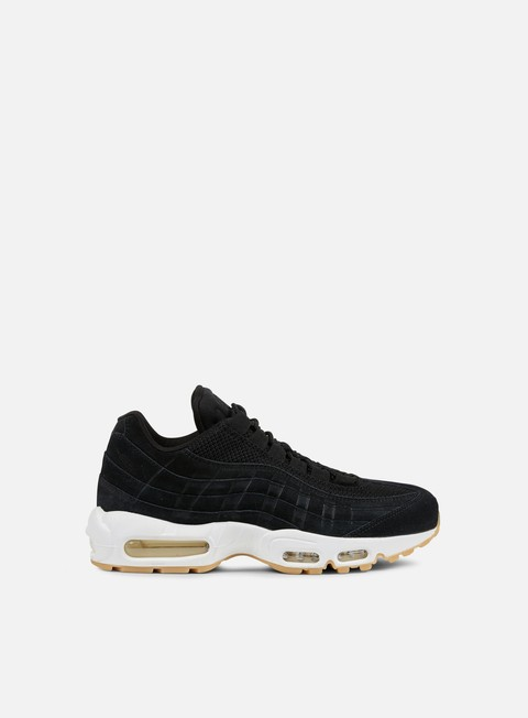 sneakers nike air max 95 premium black muslin white