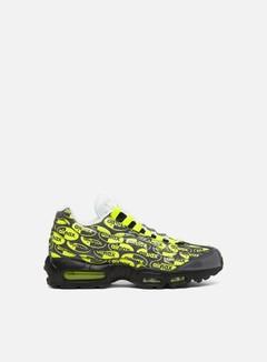 Nike - Air Max 95 Premium, Black/Volt/Ash/White