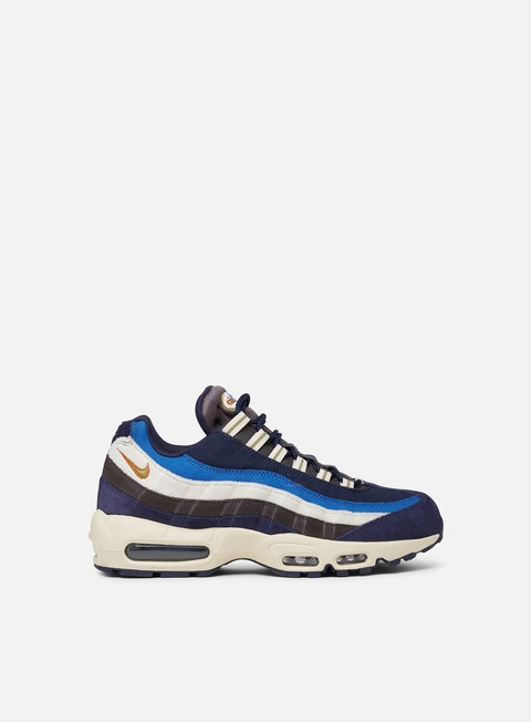 sneakers nike air max 95 premium blackened blue camper green