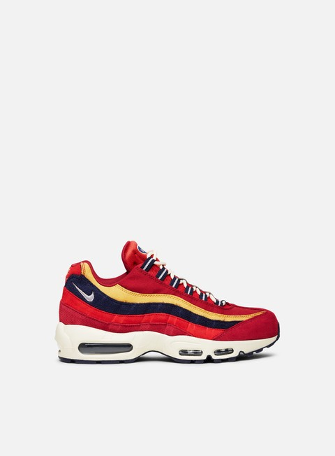 sneakers nike air max 95 premium red crush provence purple