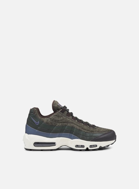 sneakers nike air max 95 premium sequoia light carbon velvet brown