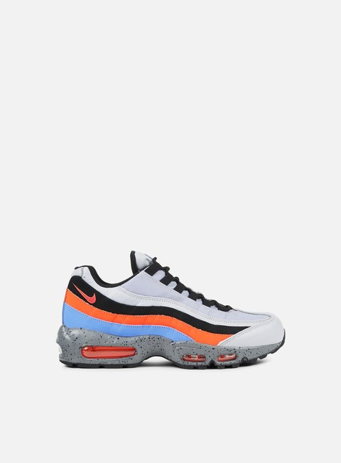 sneakers nike air max 95 premium wolf grey safety orange