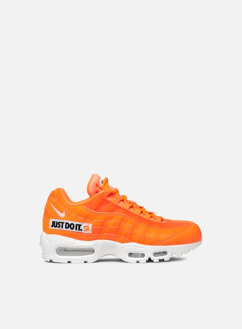 sneakers nike air max 95 se total orange white black
