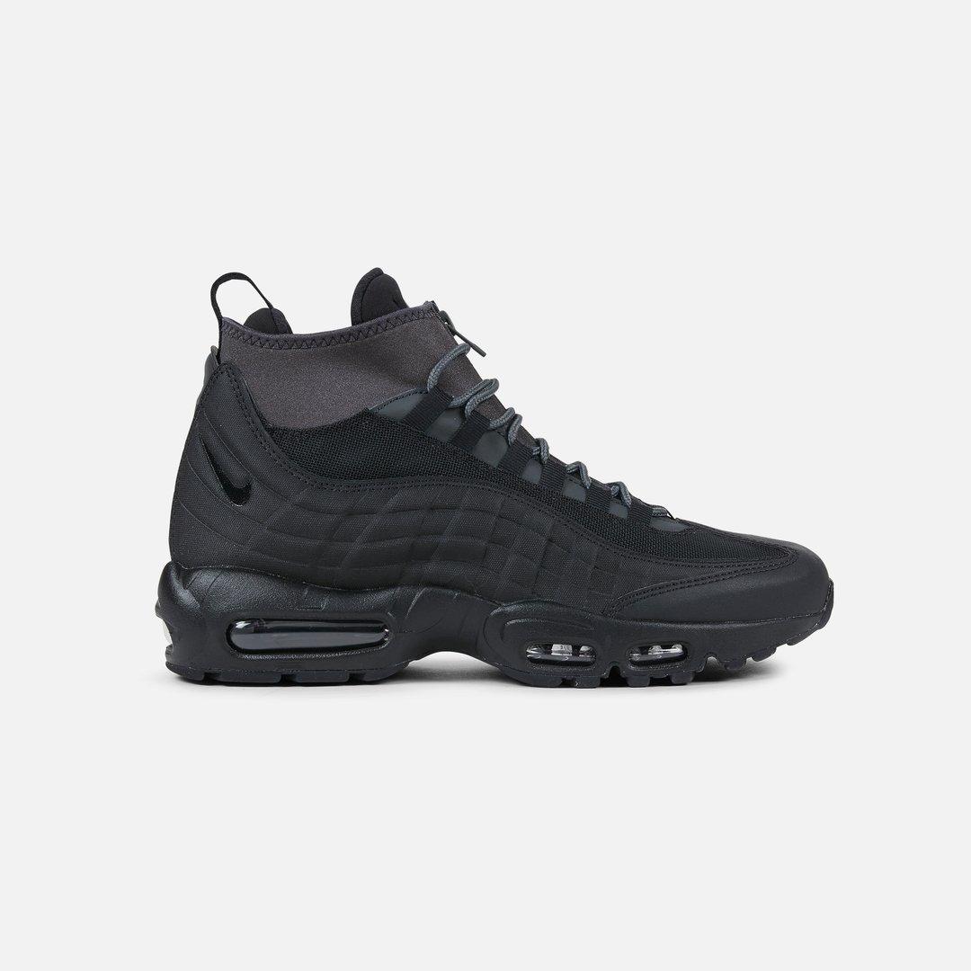 Nike Air Max 95 Sneakerboot Uomo, Black Black Anthracite ...