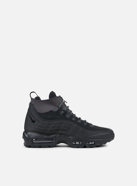 sneakers nike air max 95 sneakerboot black black anthracite