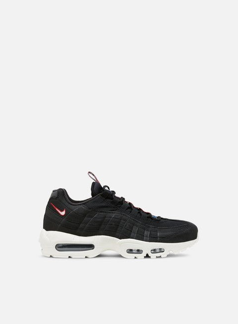 sneakers nike air max 95 tt black sail gym red