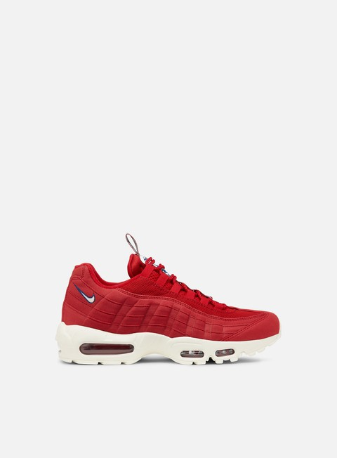 sneakers nike air max 95 tt gym red sail gym blue