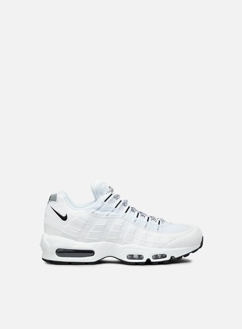 sneakers nike air max 95 white black black