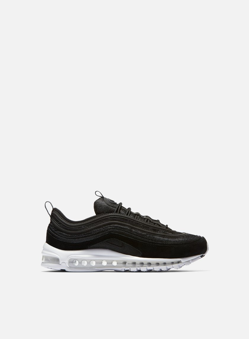 air max 97 black and white suede