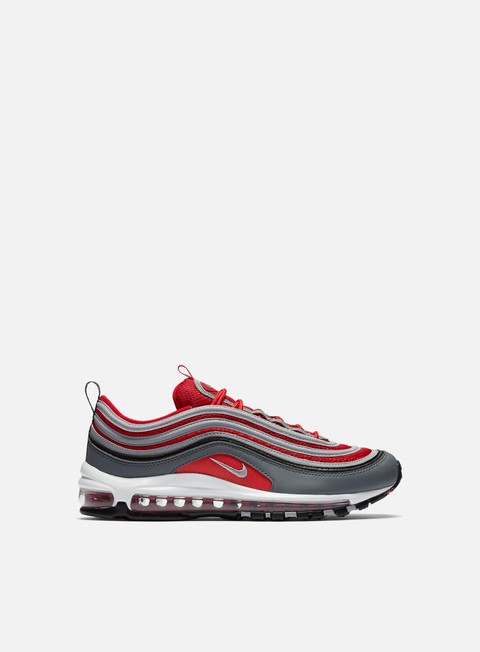 sneakers nike air max 97 dark grey wolf grey gym red