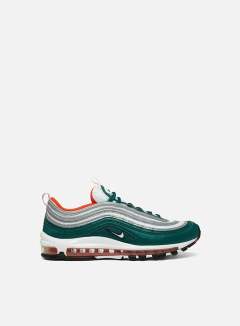 sneakers nike air max 97 rain forest white team orange