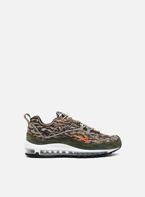 sneakers nike air max 98 aop khaki team orange medium olive
