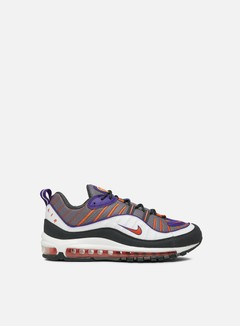 Nike - Air Max 98, Gunsmoke/Team Orange