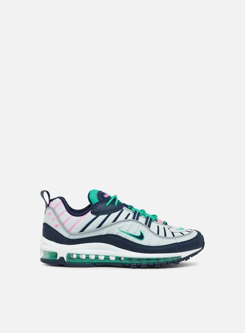 sneakers nike air max 98 pure platinum obsidian kinetic green
