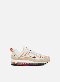 Nike - Air Max 98, Sail/Court Purple/Light Cream