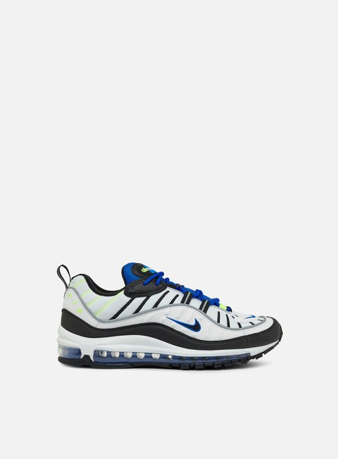 sneakers nike air max 98 white black racer blue volt