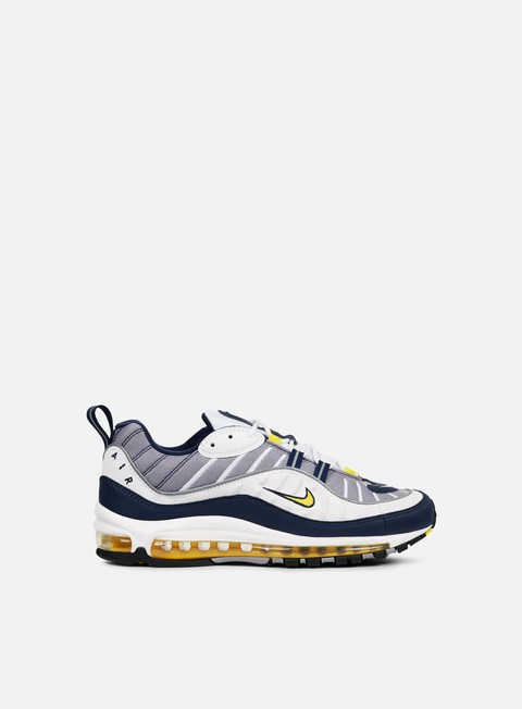 sneakers nike air max 98 white tour yellow
