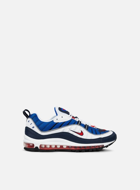 sneakers nike air max 98 white university red obsidian