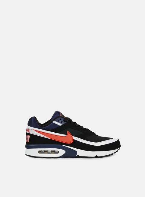 sneakers nike air max bw premium black crimson midnight navy