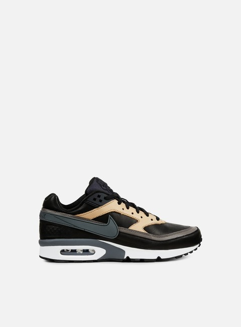 sneakers nike air max bw premium black dark grey tan