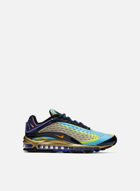 sneakers nike air max deluxe midnight navy laser orange