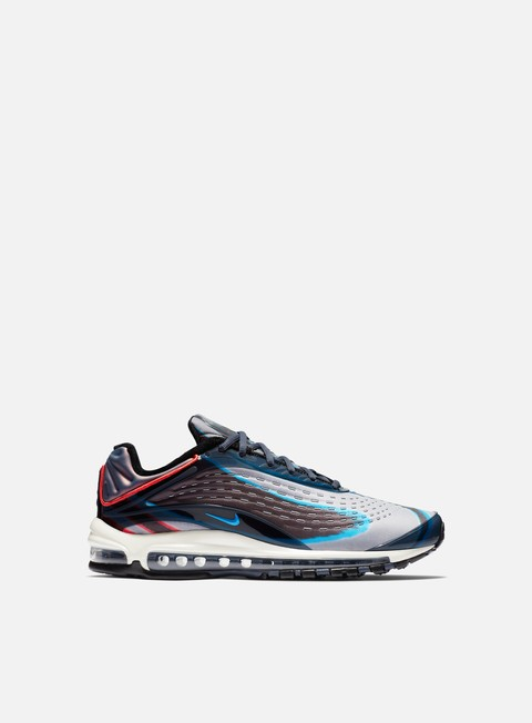 sneakers nike air max deluxe thunder blue photo blue wolf grey black