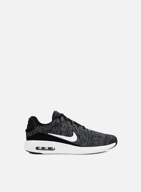 sneakers nike air max modern flyknit black white cool grey