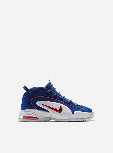 sneakers nike air max penny deep royal blue gym red white