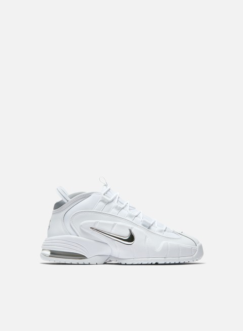 sneakers nike air max penny white white metallic silver